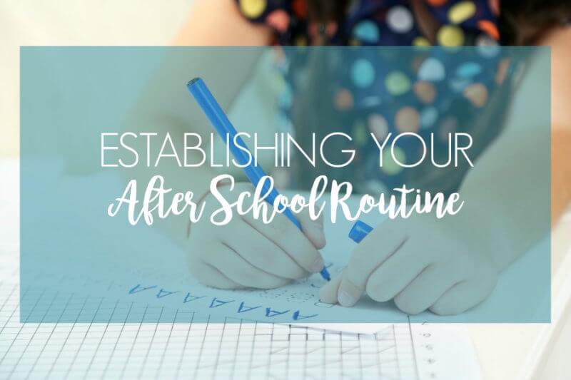 5 Tips for a Stress Free After School Routine