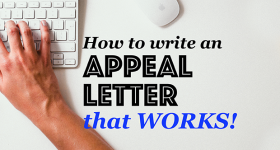How to Write an Appeal Letter That Works